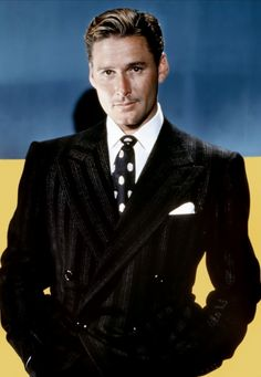 He was way before my time, but my dad is right. Erroll Flynn was very handsome.