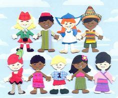 it's a small world dolls