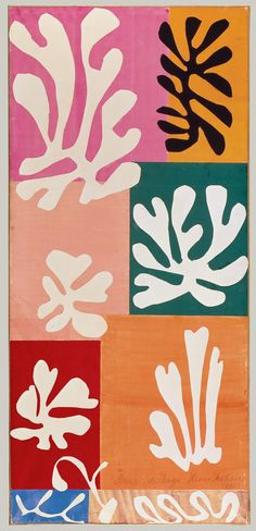 Obras de Henri Matisse en decupage ( muy lindas) - Taringa!