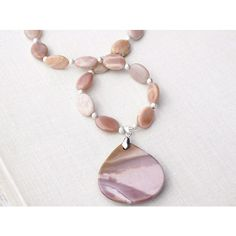 Sunstone Necklace, Light Pink Mookaite Jasper Pendant. Sterling Silver... (£105) ❤ liked on Polyvore featuring jewelry, necklaces, gemstone pendant necklace, beaded necklaces, gemstone jewelry, sterling silver pendants and sterling silver gemstone necklaces