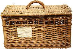 """French Market Basket  France  Wicker  19""""L x 12""""W x 10""""H  ($195.00)    $99.00  One Kings Lane"""