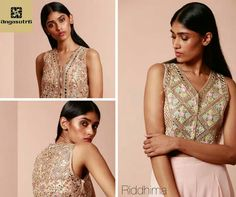 Step out in a rose-gold vest with intricate cutwork & mirror embellishment and a flared skirt from Riddhima. Shop the look at Angasutra Hyderabad, India 040 6530 3100 #happykarwachauth #karvachauth #karwachauth #wedding #bridal #brides #bride #bridesmaid #engagement #reception #event #fashion #festive #fashionblogger #fashiondesigner #like #love #girls #marketing #shopping #diwali #dhanteras #style #powertoprayer