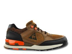Le Coq Sportif Ozan Hiking Brown / Orange