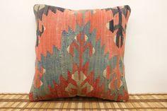 16 x 16 Decorative Kilim Pillow Throw Pillow by kilimwarehouse, $52.00