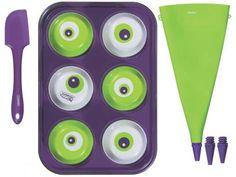 Forma para Cupcake Antiaderente Tramontina - Kit MonsterChef com as melhores condições você encontra no Magazine Sweetness. Confira!