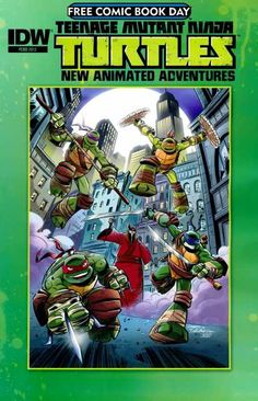 Teenage Mutant Ninja Turtles New Animated Adventures Free Comic Book Day 2013