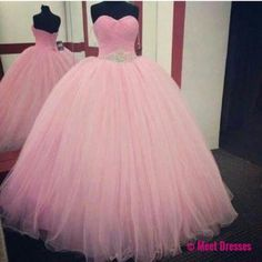 Pink Prom Dress,Ball Gown Prom Dress,Princess Prom Gown,Beaded Prom Dresses,Sexy Evening Gowns,2018 New Fashion Evening Gown,Sexy Baby Pink Graduation Dress For Teens PD20184784