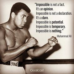 Truth . Happy Friday me hearties . . . #ledgend #ali #boxing #takeaction