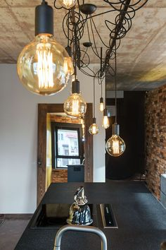 Light Bulb, Ceiling Lights, Living Room, Interior Design, Lighting, Kitchen, Home Decor, Nest Design, Cooking
