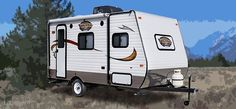 Floorplans - Viking Travel Trailers - Coachmen RV...seems perfect for me...but my Astra can't pull ;)