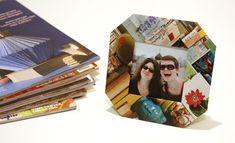 Paper Scrap Picture Frame