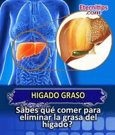 Dieta para el Hígado Graso QUE COMER? | Eternitips