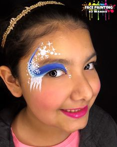 Frozen inspired face painting