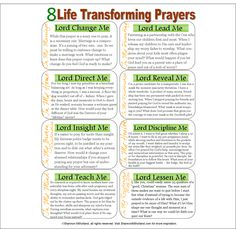 Fuel your prayer life with these and other life transforming prayer at www.shannonmilholland.com