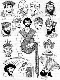 Eleventh-century Byzantine tradesman, wearing fitting