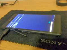 With the release of the new flagship Sony Xperia Z2 was indeed secretly been expecting at CES 2014, now have new photos of the flagship appeared
