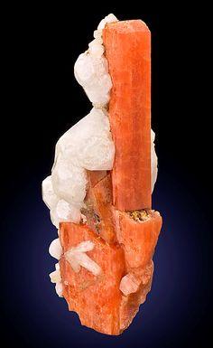 Serandite with Analcime crystals