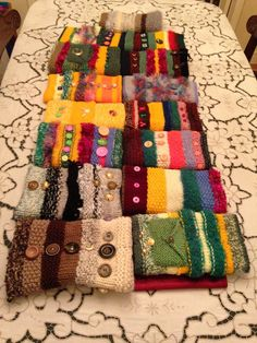 """Twiddle Mitt Pattern - Google Search: Twiddle Mitts help patients with dementia stay calm by giving them something to """"twiddle"""" with their hands."""