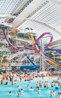 West Edmonton Mall | Travel | Vacation Ideas | Road Trip | Places to Visit | AB | Children's Attraction | Clothing | Tourist Attraction | Mall