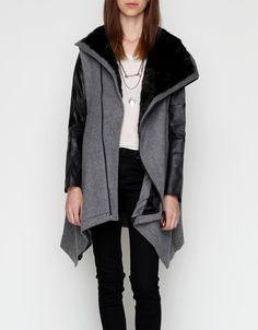 Kai Aakmann double layer wool coat.