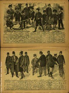 Au Bon Marche 1899 Catalogue