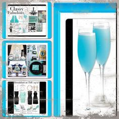 "I was bored, & sometimes when I'm bored I research & plan my future dream wedding. & I came across this stuff. As you already know from previous posts I want my colors to be TIFFANY blue, white, & black for my wedding, I also want it for my wedding shower AND bachelorette party too, but I want the THEME of my wedding shower & bachelorette party to be ""Breakfast at Tiffany's"". {so maid of honor, take notes!}. Lol. . #tiffanyblue. #breakfastattiffanys #weddingshower & #bacheloretteparty."