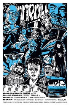 The Troll 2 Alamo Drafthouse Movie Poster (Variant) by Tim Doyle