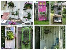 Image result for decoupage doors
