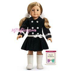 Velveteen Coat Set for Dolls + Book 2007
