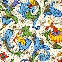 Dellarobia Florentine Print Paper ~ Rossi Italy