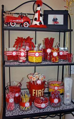 fireman party ideas | ... FOR KIDS BIRTHDAY PARTY. KIDS BIRTHDAY PARTY - AMERICANA DECORATIONS