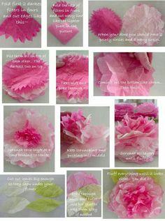 Coffee filter craft ideas peony filter and tutorials coffee filter peonies flower mightylinksfo