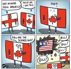 Has anyone seen America?