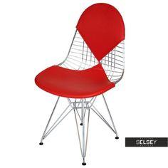 Krzesło Net double czerwona poduszka Sit Back And Relax, Chairs, Furniture, Design, Home Decor, Decoration Home, Room Decor, Tire Chairs, Home Furniture
