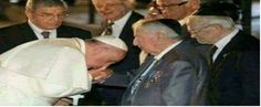 When the Pope kisses the hand of Masonic symbols - Syrian facts Web Site