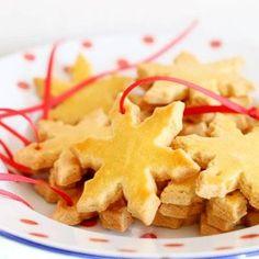 Kerst koekjes (amandel-boter koekjes)