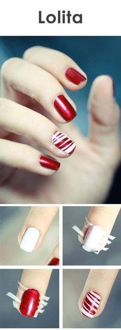 Ya se acerca navidad, y que mejor excusa para decorar tus uñas que con sus colores.