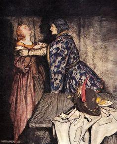 1917  The Romance of King Arthur  ~ Arthur Rackham - illustrator