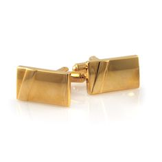 Guldfarvede Manchetknapper - 179,00kr