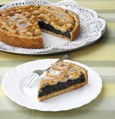 Poppyseed and Orange Pie [KataKonyha: Mákos-narancsos pitetorta] Poppy Cake, Xmas Dinner, Salty Snacks, Hungarian Recipes, Winter Food, Food And Drink, Biscotti, Pie, Fudge
