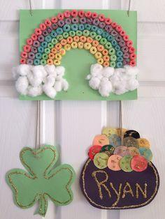 St Patricks Day Toddler Craft