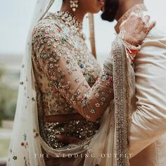 Details from Jaslene's wedding outfit. Photo Courtesy: assisted by Venue: Le Palais Paysan, Marrakech. Asian Wedding Dress, Pakistani Wedding Dresses, Indian Dresses, Indian Outfits, Asian Bridal Dresses, Indian Bridal Lehenga, Pakistani Bridal, Pakistani Suits, Desi Wedding