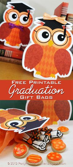 Party Planning Center: Free Graduation Party Gift Bag Printables