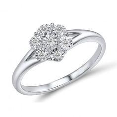 fed201eec339 Характеристики Кольцо из белого золота с бриллиантами 1681456, 17.5 размер  основные все характеристики Размер 17.5