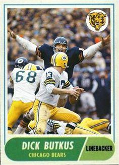 Dick Butkus Chicago Bears Bears Football 0e93cb4eb