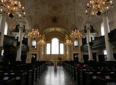 St Martin in the Fields Church Interior, Trafalgar Square, London, April 2012
