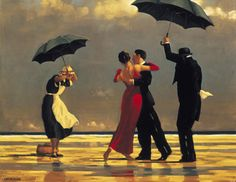 One of my all time favorite paintings.. 'The Singing Butler' Jack Vettriano