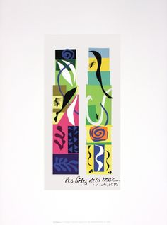 Sea Beasts by Henri Matisse