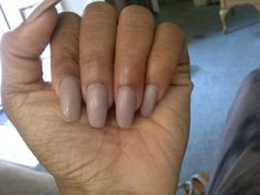 Coffin, Matte, Soft Beige