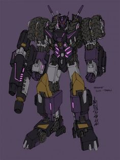 the machine of instant death ☠, Decepticon Justice Division Concept Art by Alex...